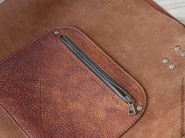 """Купить Сумка """"Сафари"""" - сумка-шоппер, сумка из натуральной кожи, сумка tote, большая сумка"""