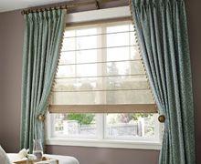 Cortinados - Combinación cortinas tradicionales y modernas [bedroom blinds curtains windows covering decoración ventanas habitación]
