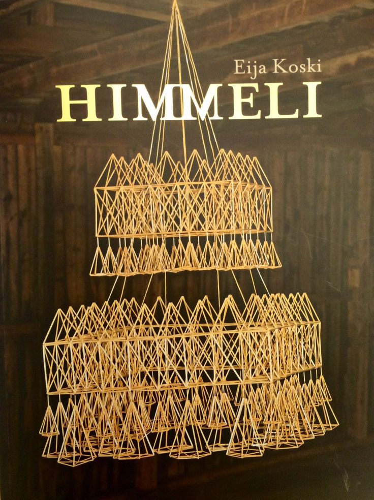 The new boom, 'himmeli', or straw mobiles, an old Finnish decoration for Christmas. In old times these were hanged up to bring good harvest and fertility next coming year. They hang until midsummer when everything started to grow and bloom properly. The crafts were done by young unmarried women in a slightly heated sauna to make the straws soft and manageable, young men could also assist as a courting opportunity where the youth got to know each other in controlled forms.