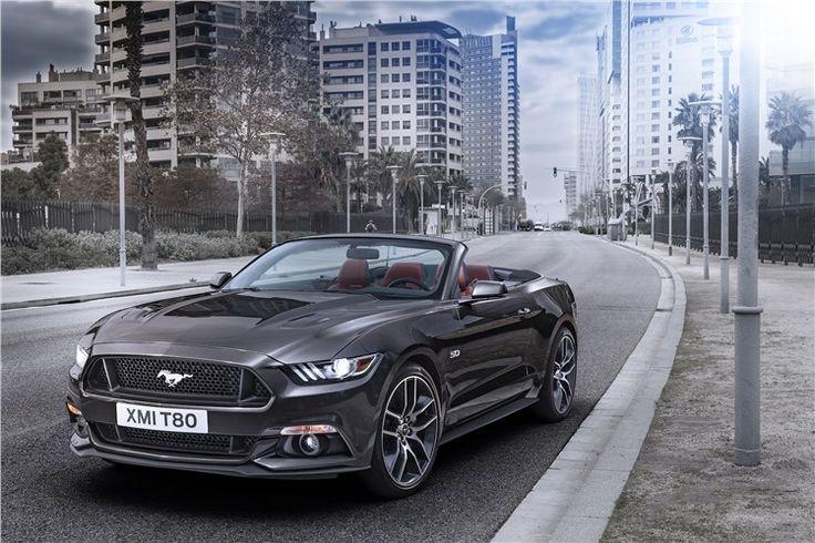 O novo Mustang acelera em menos de 5 segundos dos 0 aos 100 Km/h