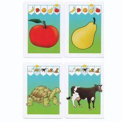Jeu pour travailler la classification et les champs lexicaux tout en s'amusant. Simple et efficace, chaque jeu propose 16 catégories très variées (animaux, outils, vaisselle, formes…)