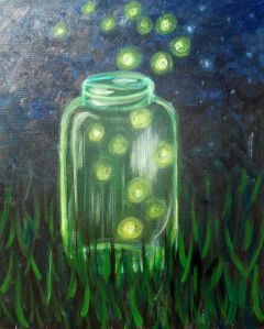 Glowing Fireflies - Pinot's Palette in Alamo Heights