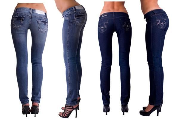 Купить женские стильные джинсы с низкой талией