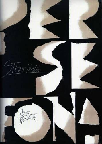 Roman Cieslewicz Persephone Stravinsky 1961