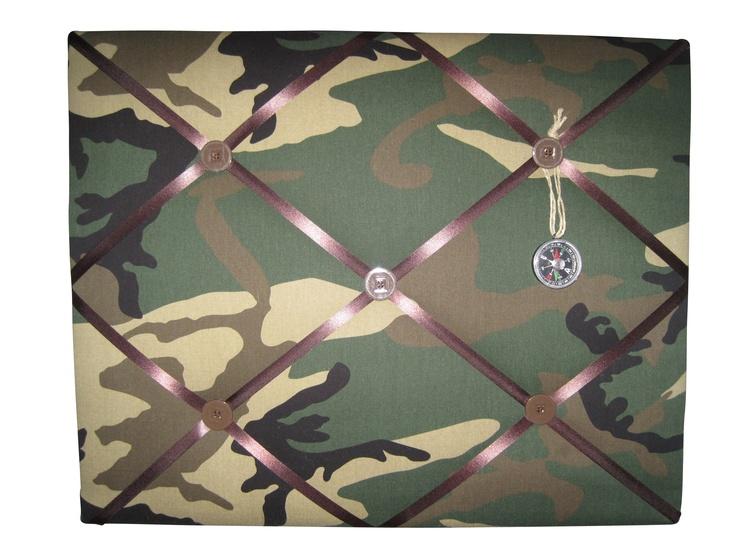 #memobord #army #jongenskamer www.kids-ware.nl