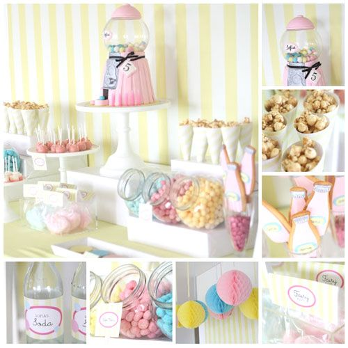 decoraciones para baby shower en colores pasteles buscar con google