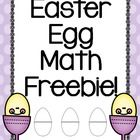 This product includes creative ideas for using plastic Easter eggs in your classroom. The product also includes a printable recording sheet for students to use! This will increase accountability if using the activity at work stations or math tubs.