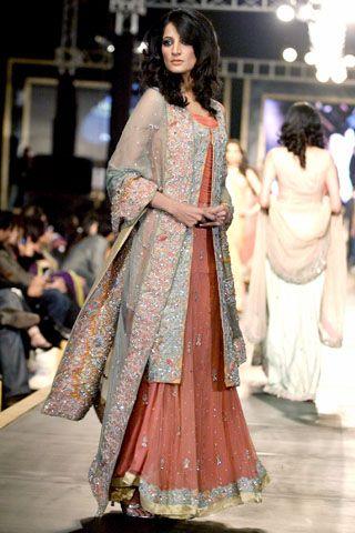 Bridal Couture Week Pakistan 2010 - Amna Ajmal - Asian Wedding Ideas