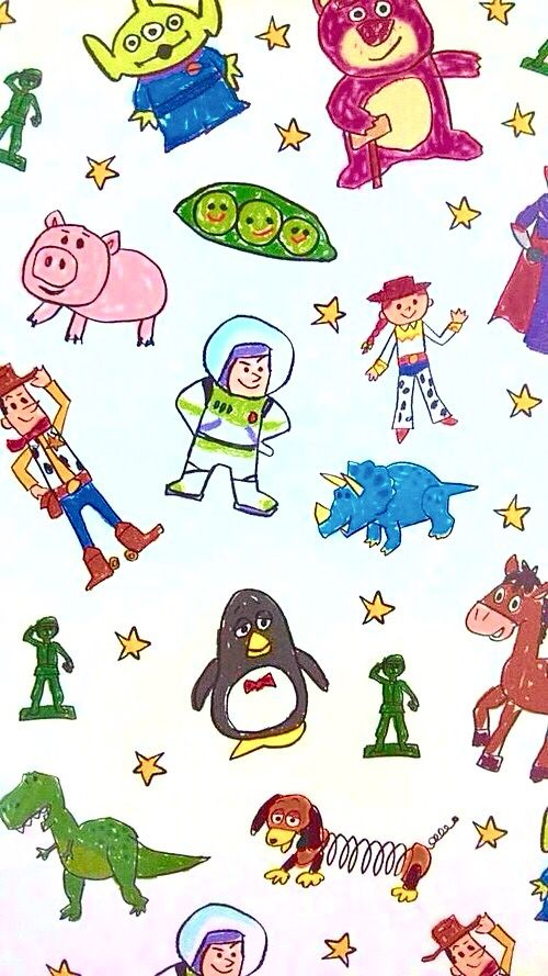 Toy story wallpaper                                                       …