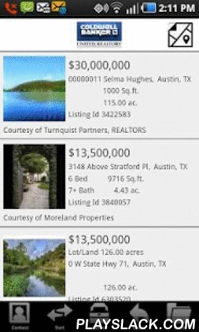 Coldwell Banker United  Android App - playslack.com ,  Coldwell Banker United, REALTORS Mobile Real Estate brings the most accurate and up-to-date real estate information right to your phone! With Coldwell Banker United, REALTORS Mobile Real Estate, you have access to all homes for sale and MLS listings throughout the Texas, Florida, North Carolina and South Carolina areas. Use Coldwell Banker United, REALTORS Mobile Real Estate anytime, anywhere to pull up homes for sale around you using…