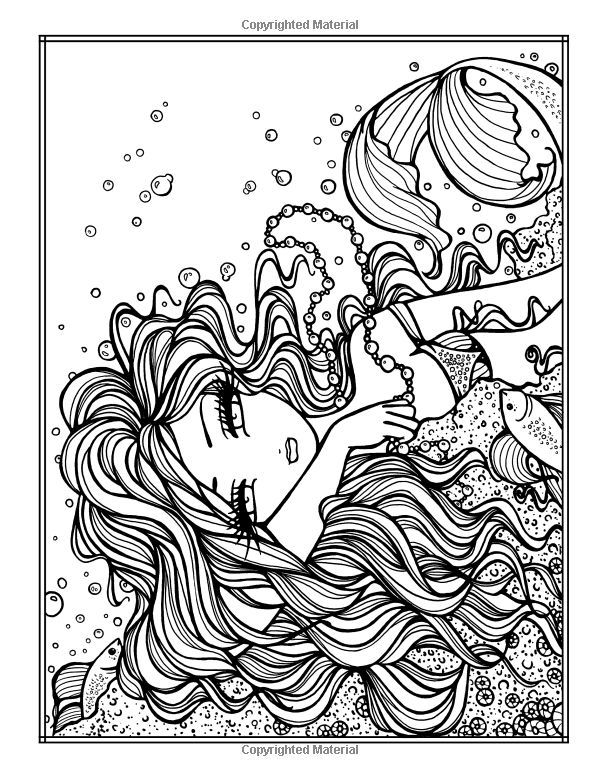Image Result For Dagdrommar Mermaid Coloring Pages