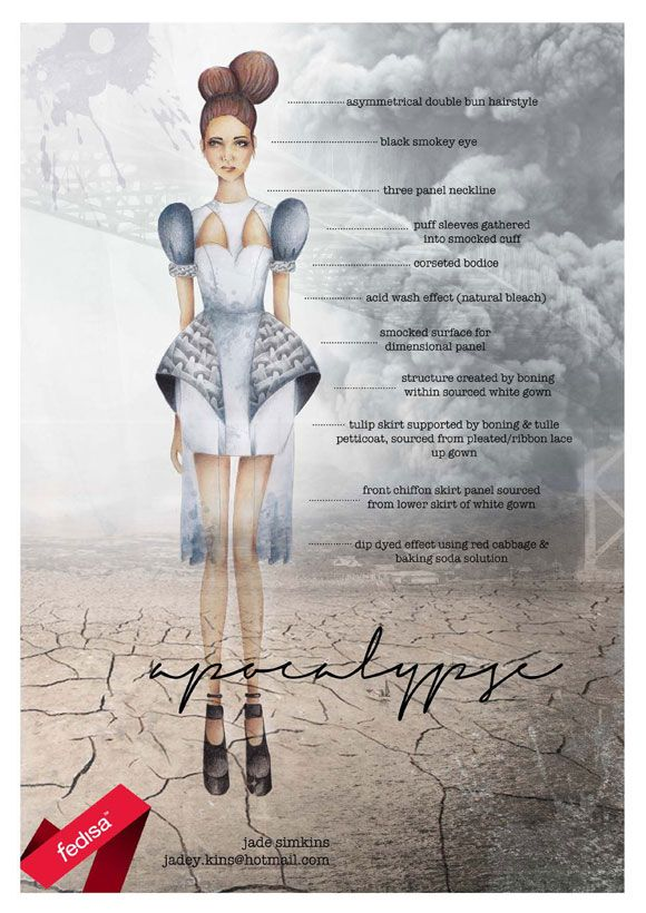 Meet Jade Simkins {Avant Garde dress Top 10 Finalist} | Live Eco