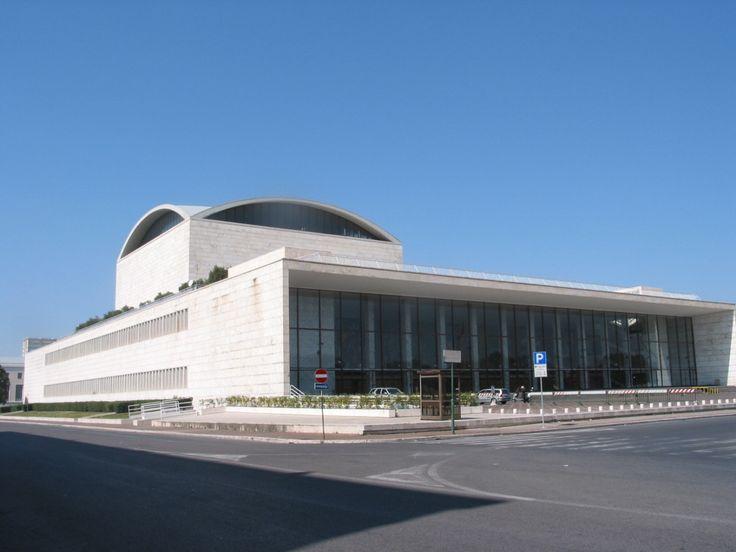 Adalberto Libera - Roma, Eur - Palazzo dei Congressi
