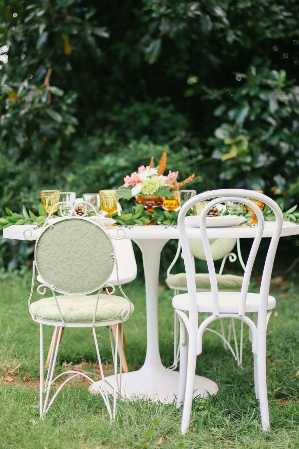 A Pretty Outdoor Fall Dinner Party from The Sweetest Occasion