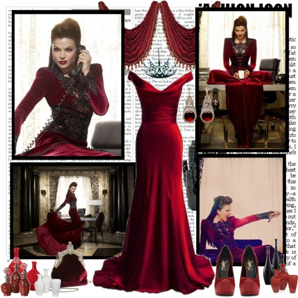 Once Upon A Time Regina Inspiration