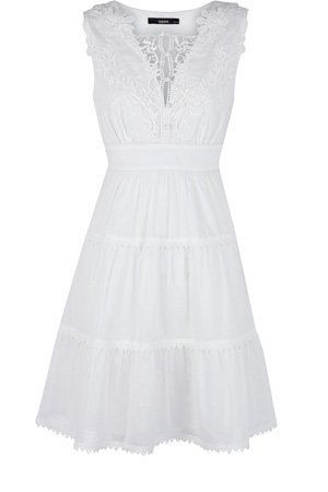 Oasis Formal | Ivory Lace Trim Sundress | Womens Fashion Clothing | Oasis Stores UK $99