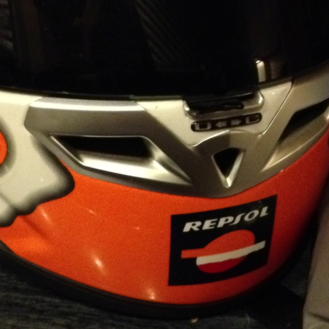 Repsol KBC Helmet.