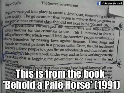 From 'Behold A Pale Horse' by William Cooper (1990) http://orwelliania.wordpress.com/2012/12/26/bill-cooper-tried-to-warn-us/