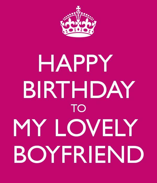 1000+ Ideas About Happy Birthday Boyfriend On Pinterest