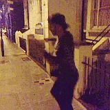 Josh dancing down the street>>> WHERE HAS THIS BEEN ALL MY LIFE