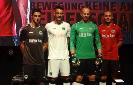 Camiseta Hannover 96 para la Bundesliga 2014 2015