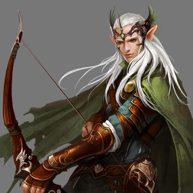 league of angels, elven male character (reminds me a bit of Legolas)