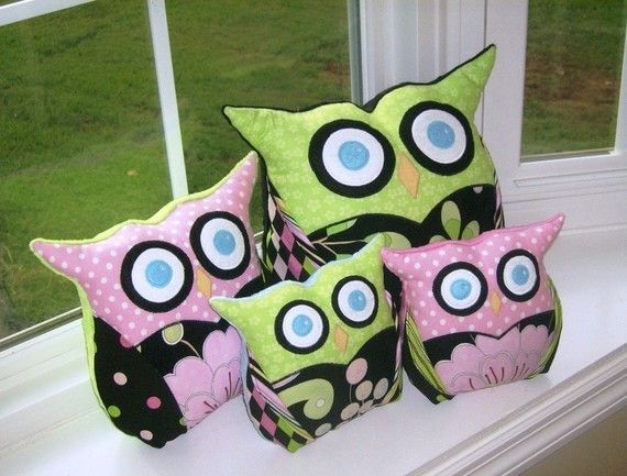 Owl Sewing Pattern - Owl Pillow - PDF Pattern 3 Sizes Easy Pillow Pattern & 198 best images about sewing on Pinterest | Free pattern Free ... pillowsntoast.com