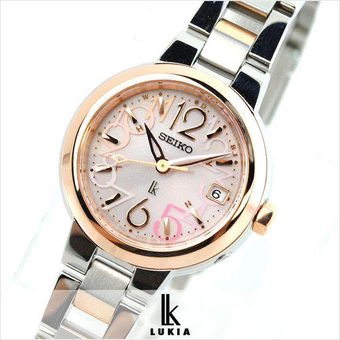 【楽天市場】セイコー ルキア LUKIA ソーラー電波 SSVW018 レディース腕時計 時計:腕時計本舗