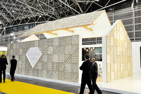 The Blooming House Cevisama 2013 for Durstone on Behance