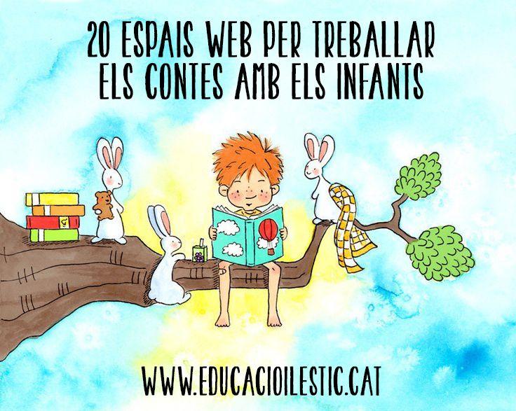 20 espais web per treballar els contes amb els infants