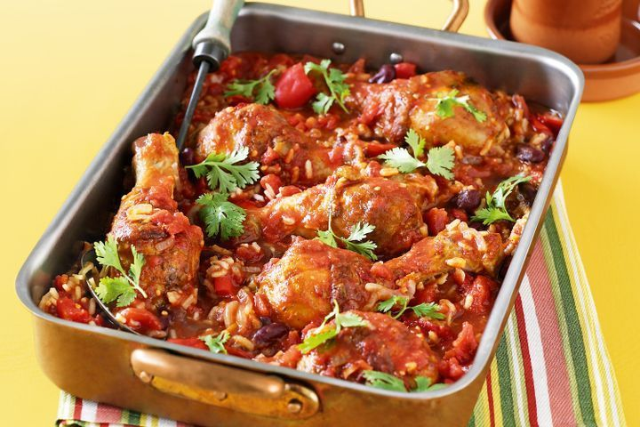 One-pan Mexican chicken