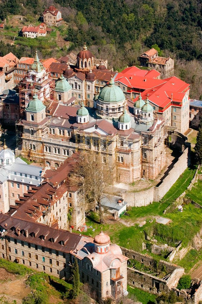 Holy Cloister St. Andrew, Mount Athos