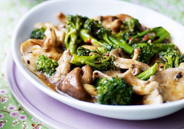 A quick, full-flavoured vegetarian chinese stir-fry recipe of broccoli and mushrooms in black bean sauce.
