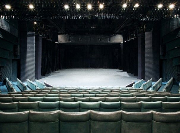 New Stage of the National Theatre - auditorium