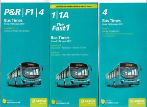 3-x-ARRIVA-BUS-TIMETABLES-Derby-valid-from-29-October-2017