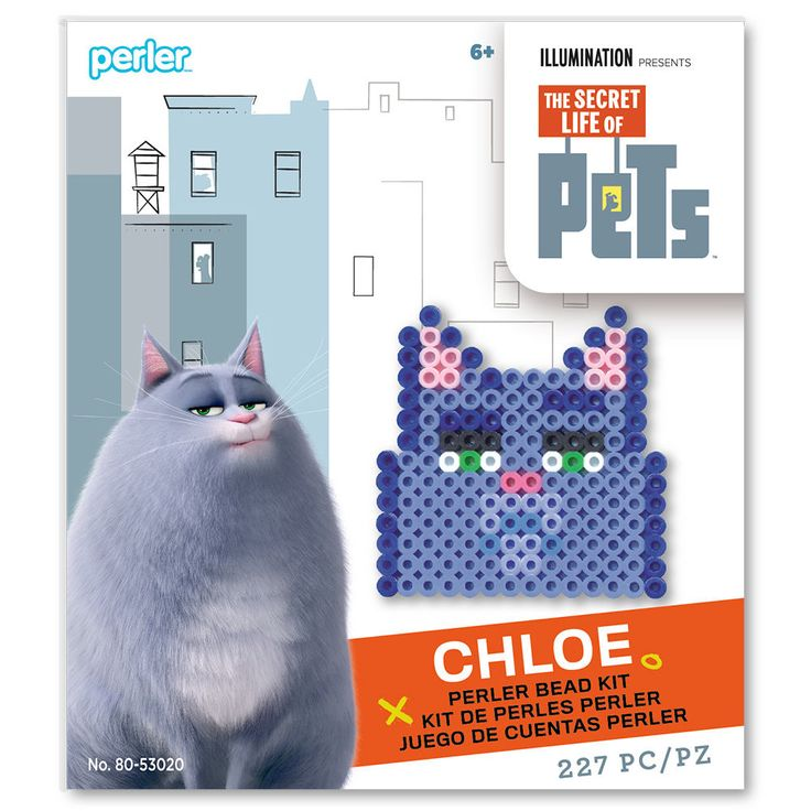 Perler-Secret-Life-of-Pets-Chloe_80-53020.jpg (1000×1000)