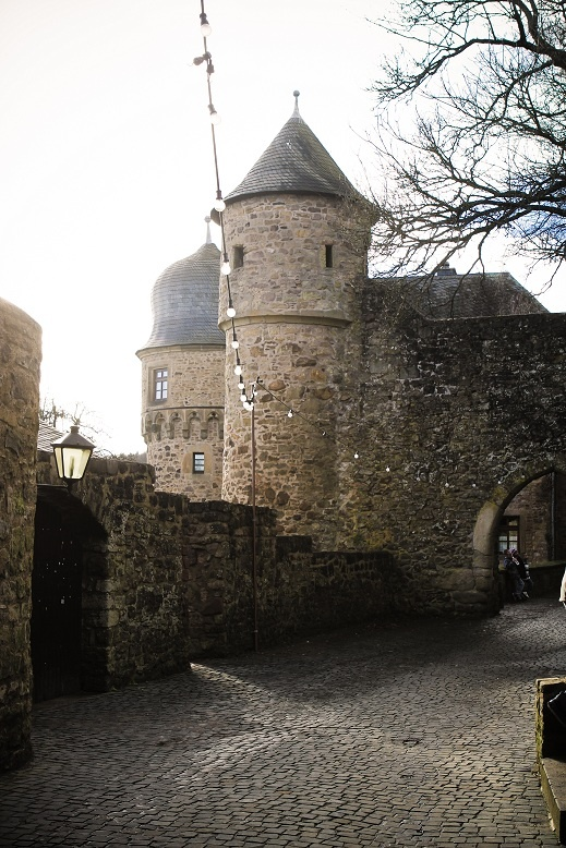 Beautiful Burg Lichtenburg, near Kusel, Germany We'd go here for a special occasion. I am almost sure I could see it from my hospital window!