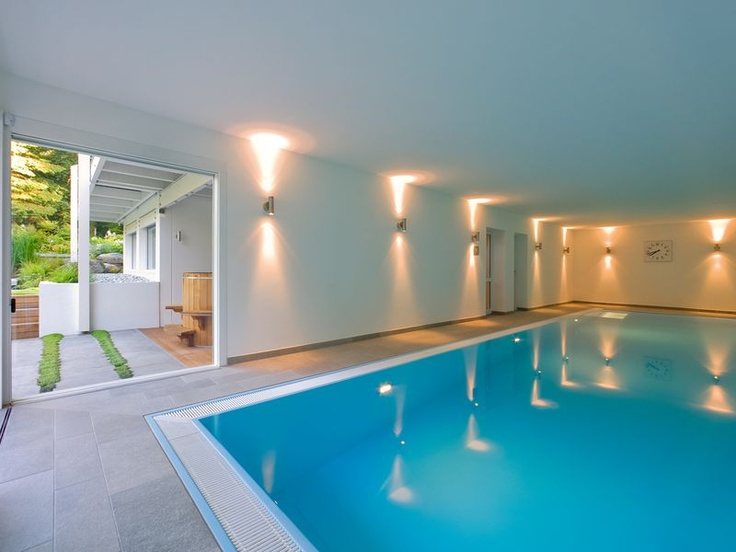 Indoor pool einfamilienhaus  11 best HUF Wellness images on Pinterest | Huf, Wellness and ...