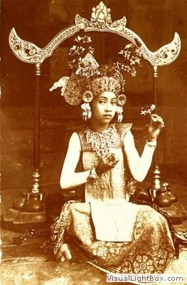 Indonesia, Bali. Dancer.