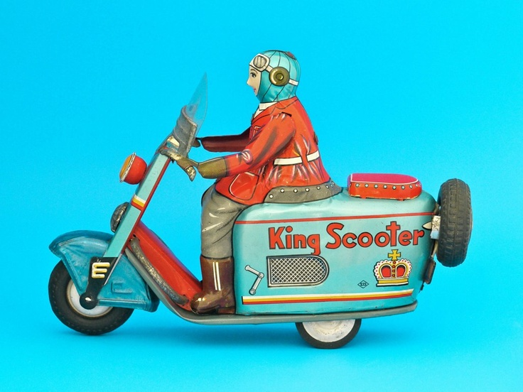 King Scooter, STS Japan 1955