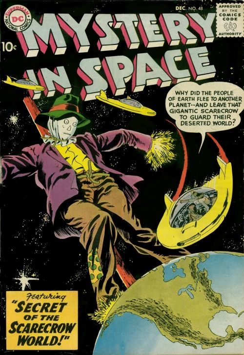 Mystery in Space #48, December 1958