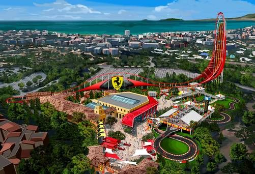 Start Your Engines: #PortAventura 's #FerrariLand sets opening date - Independent.ie #salou #spain