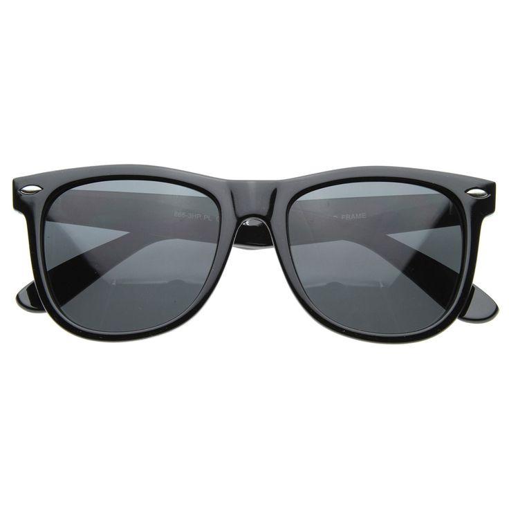 Large 55mm Polarized Lens Anti Glare Classic Horn Rimmed Style Sunglasses  #frame #sunglasses #sunglass #mirrored #clear #oversized #sunglassla #womens #bold #cateye