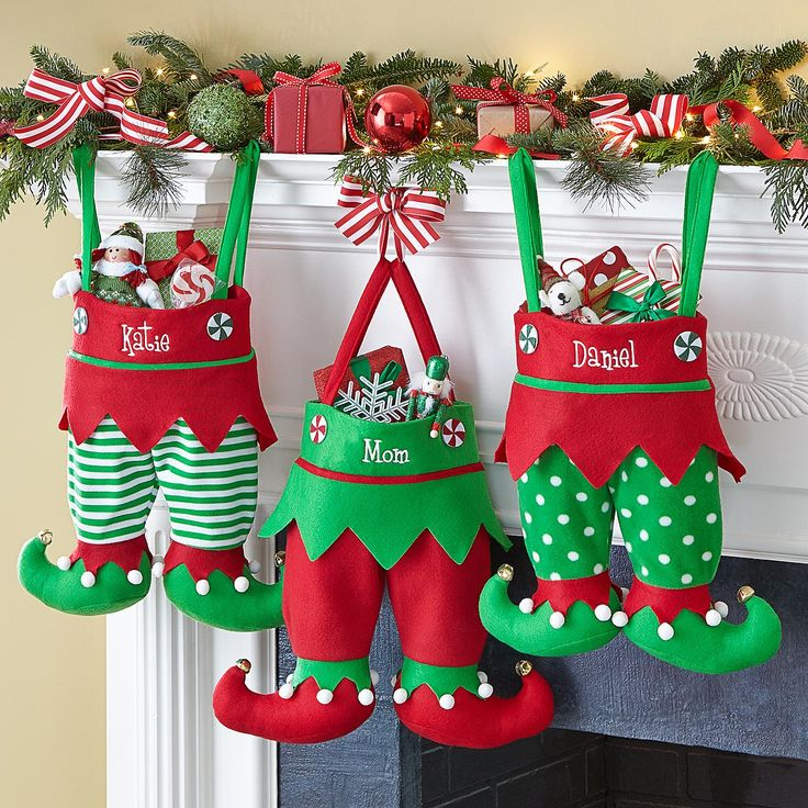 542 Best Images About Christmas Stockings On Pinterest