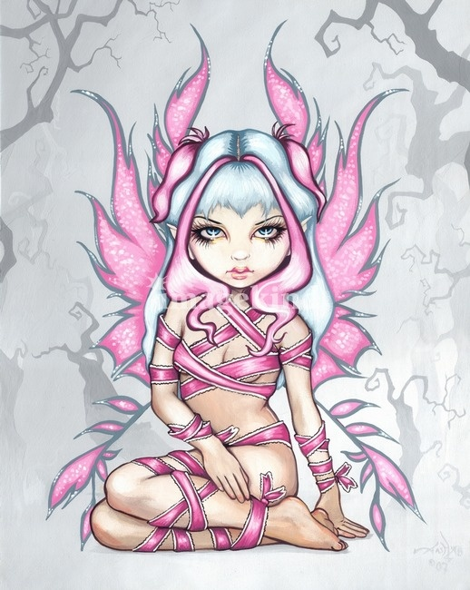 Pink Ribbon Fairy | Jasmine Becket-Griffith