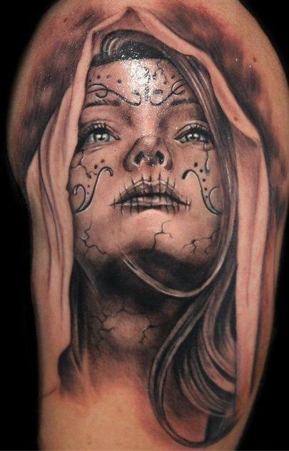 tattoo sugar skull 3d - Google zoeken