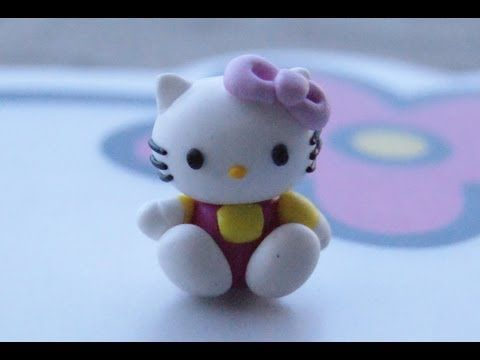 DIY Polymer Clay or Fimo Hello Kitty Tutorial