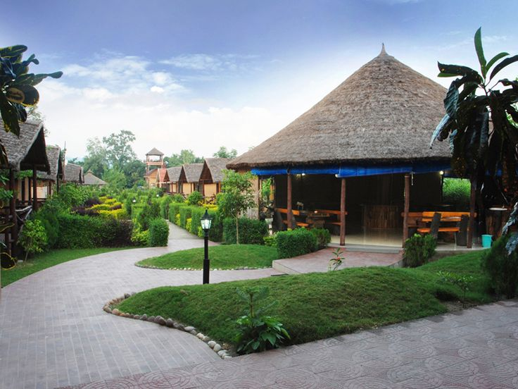 The Corbett View Resort would provides the best stay in the wilderness close to protected areas and #nature reserves and the blithesome experience in fully AC and Mud Hut #Cottages with Thatched Roof in the remote village of Dhela on the southern fringe of Jim Corbett National Park would leave you yearning for more. #hotel #beststay #vacation #tourism #adventure