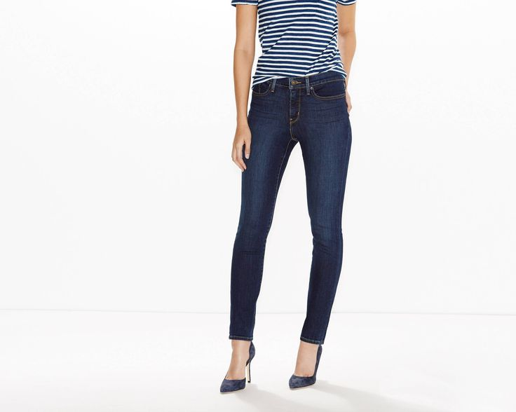 34 ...Designed to smooth and enhance, our new shaping jeans help slim your tummy, lift your seat and lengthen your legs. Own what you have got. These jeans shape through the hip and thigh with a slim leg and tummy-slimming technology.