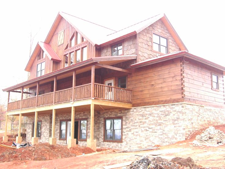 7 best Craftsman Style images on Pinterest | Log home, Log homes and Log Home Foundations Designs on log bridges, modular home foundations, rock home foundations, wood home foundations, stone foundations, concrete foundations, log pools, cottage foundations, types of foundations, brick foundations, steel home foundations, garage foundations, victorian home foundations,